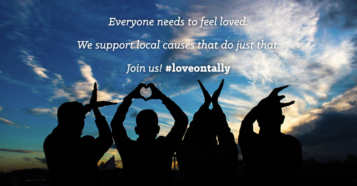 #loveontally